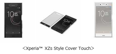 Xperia (TM) XZs Style Cover Touch